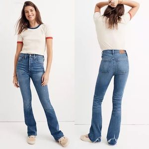 Madewell | Rivet & Thread High Rise Skinny Flare